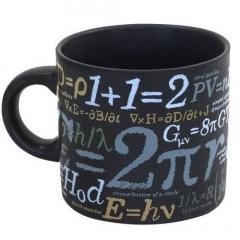 Cana ceramica cu formule matematice