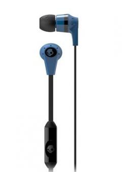 Casti Skullcandy Ink'd Blue Black Microphone