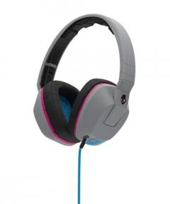 Casti Skullcandy Crusher Grey / Cyan / Black