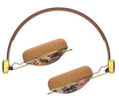 Casti Skullcandy Knockout Floral / Burgundy / Rose / Gold