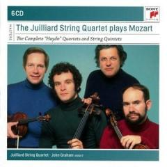 The Juilliard Quartet plays Mozart - The Complete ''Haydn'' Quartets and String Quintets