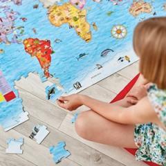 Orchard / Puzzle si poster - Harta lumii in limba engleza
