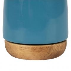 Ceasca - Nordika Blue 100ml, stoneware+acacia wood