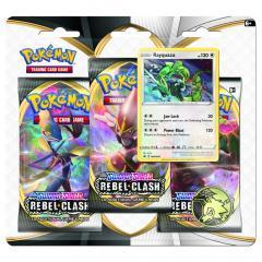 Pokemon Sword & Shield 2: Rebel Clash - 3-Booster Blister - mai multe modele