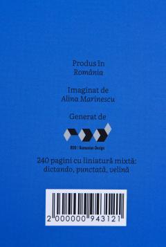 Carnet - Alina Marinescu: My office is my notebook, albastru