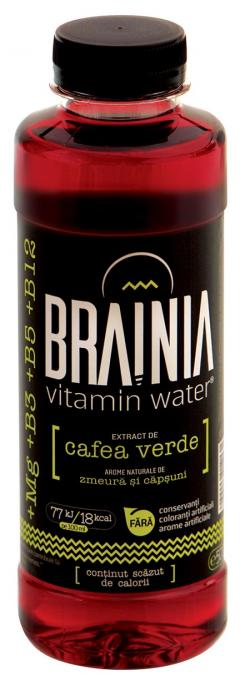 Apa cu vitamine Brainia - Extract Cafea verde - 500 ml