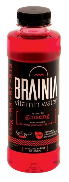 Apa cu vitamine Brainia - Extract Ginseng - 500 ml