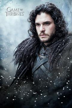 Poster mare - Game of Thrones - Jon Snow