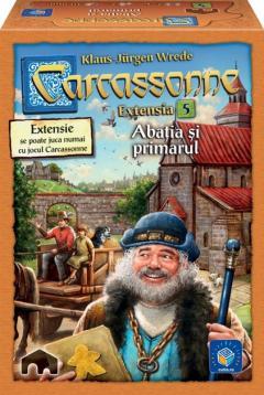 Carcassonne - Extensia V - Abatia si primarul