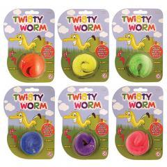 Jucarie - Twisty Worm - mai multe modele