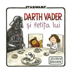 Star Wars. Darth Vader si fetita lui