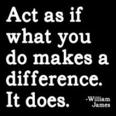 Magnet - Act as if what you do makes a difference..