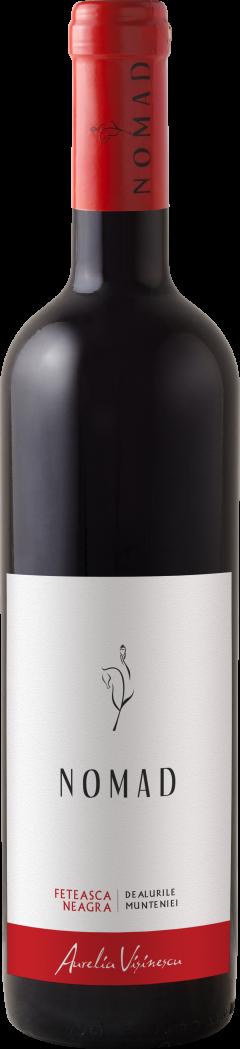 Vin rosu - Aurelia Visinescu / Nomad, Feteasca Neagra, 2017, sec