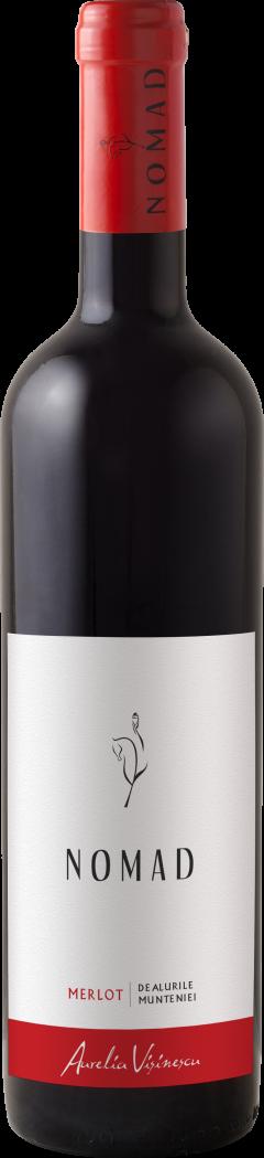 Vin rosu - Aurelia Visinescu / Nomad, Merlot, 2014, sec