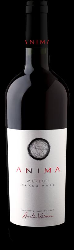 Vin rosu - Aurelia Visinescu / Anima, Merlot, 2014, sec