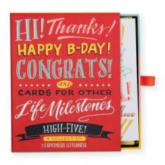 Felicitari - Ladyfingers Letterpress High Five Greeting Card Assortment