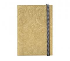 Carnet - Paseo Embossed Gold A6