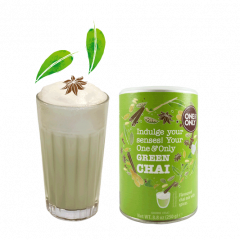 Ceai verde pudra - Green Chai One & Only