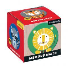Mini Memory Match - Geometric Animals