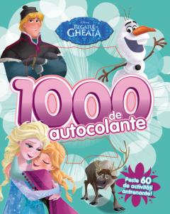 Regatul de gheata. 1000 de autocolante