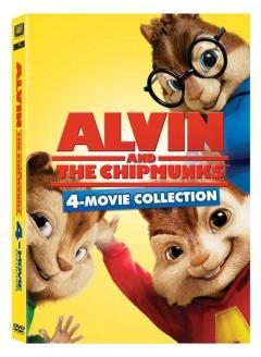 Alvin si veveritele Box set (4 titluri) / Alvin and the chipmunks