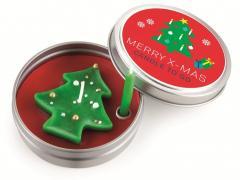 Lumanare in cutie metalica - Merry Xmas to go