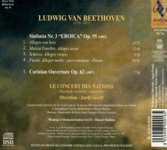 Beethoven: Symphony No. 3 Eroica Op. 55, Coriolan Overture Op. 62