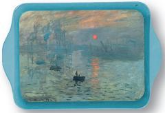 Tavita din metal - Claude Monet Soleil Levant