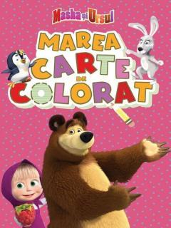 Masha si ursul. Marea carte de colorat