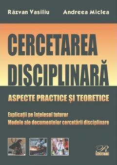 Cercetarea disciplinara