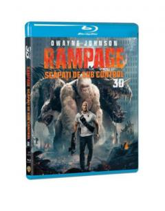 Rampage: Scapati de sub control 3D (Blu Ray Disc) / Rampage