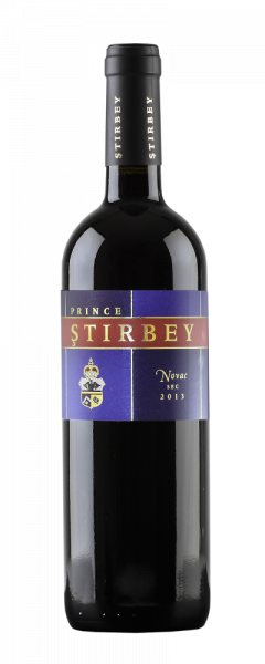 Vin rosu - Stirbey, Novac, 2013, sec