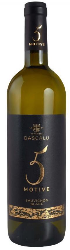Vin alb - 5 Motive, Sauvignon Blanc, demisec, 2019