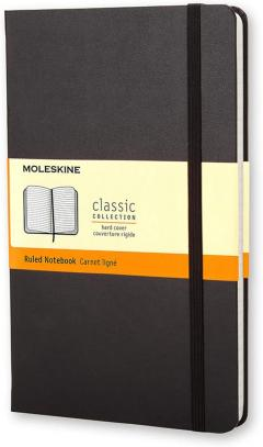 Carnet - Moleskine Ruled Hardcover Notebook - Large