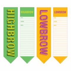 Set semne de carte - Highbrow Lowbrow