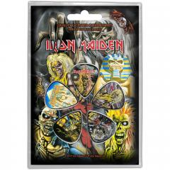 Set 5 pene pentru chitara - Iron Maiden - Faces of Eddie