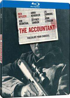 The Accountant - Cifre periculoase Steelbook (Blu Ray Disc) / The Accountant