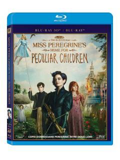 Copiii domnisoarei Peregrine: Intre doua lumi 2D+3D (Blu Ray Disc)  / Miss Peregrine's Home for Peculiar Children