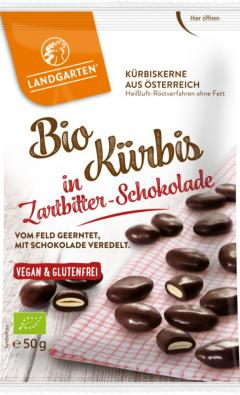 Seminte de dovleac in ciocolata neagra eco