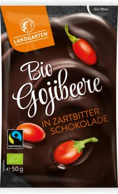 Goji in ciocolata neagra eco