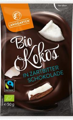 Cocos in ciocolata neagra eco