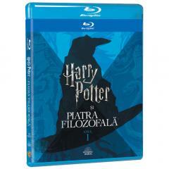 Harry Potter si Piatra Filozofala / Harry Potter and the Sorcerer's Stone (Blu-Ray Disc)