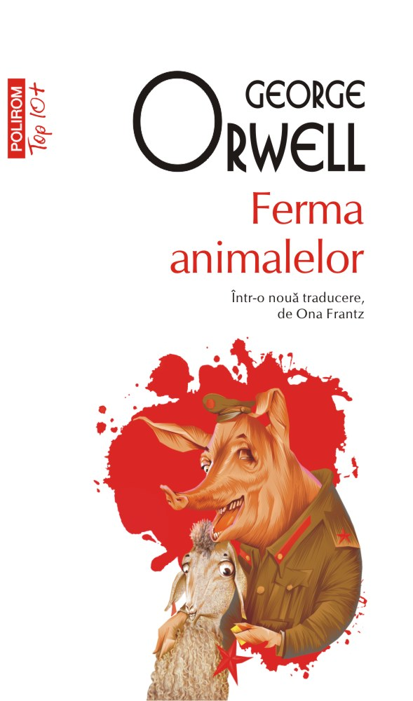 Coperta Ferma animalelor - George Orwell