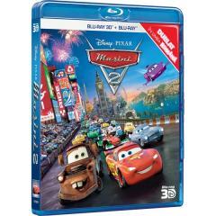 Masini 2 combo 2D+3D (Blu Ray Disc) / Cars 2