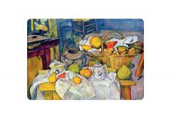 Suport de farfurie - Cezanne, Still life with basket, 1890