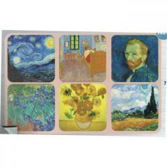 Set suport pahare - Vincent Van Gogh - diverse modele