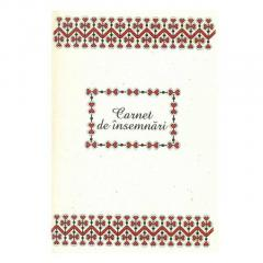 Carnet mediu - Motive traditionale din Bucovina-Vatra Dornei