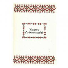 Carnet mare - Motive traditionale din Bucovina-Vatra Dornei