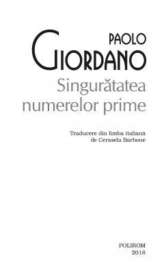 Singuratatea numerelor prime