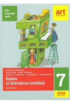 Limba si literatura romana. Clasa a VII-a. Semestrul I